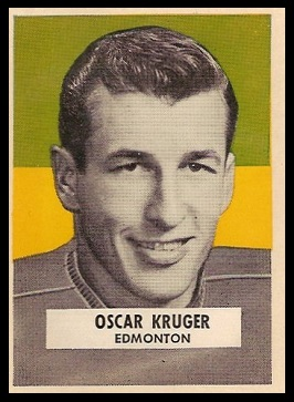 Oscar Kruger 1959 Wheaties CFL football card