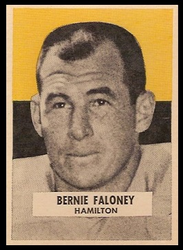 Bernie Faloney 1959 Wheaties CFL football card