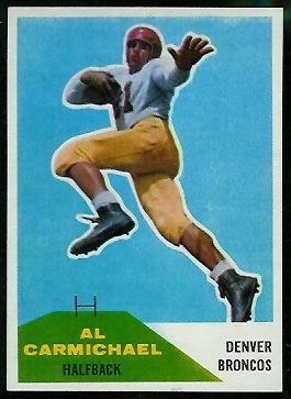 Al Carmichael 1960 Fleer football card