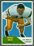 1960 Fleer Ron Mix