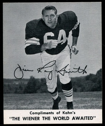 Jim Ray Smith 1960 Kahns football card