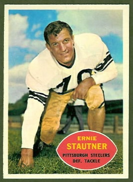 Ernie Stautner 1960 Topps football card