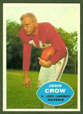 John David Crow 1960 Topps football card