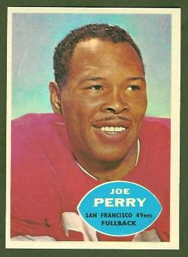 Joe Perry 1960 Topps football card