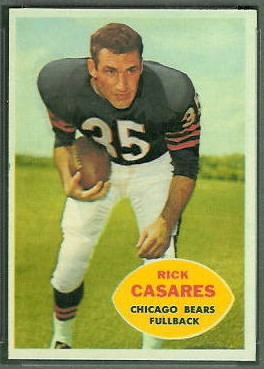 Rick Casares 1960 Topps football card