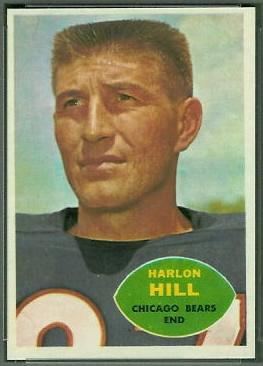 Harlon Hill 1960 Topps football card