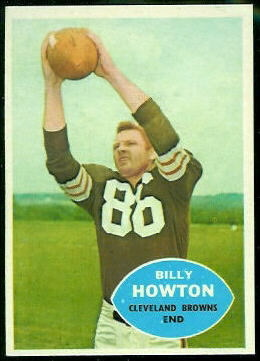 Bill Howton 1960 Topps football card