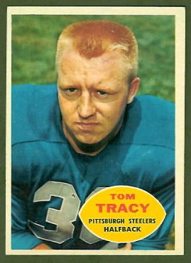 Tom Tracy 1960 Topps football card