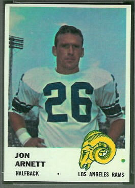 Jon Arnett 1961 Fleer football card