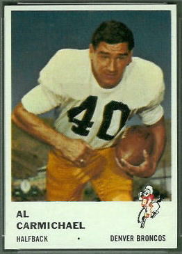 Al Carmichael 1961 Fleer football card