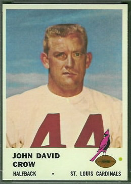 John David Crow 1961 Fleer football card