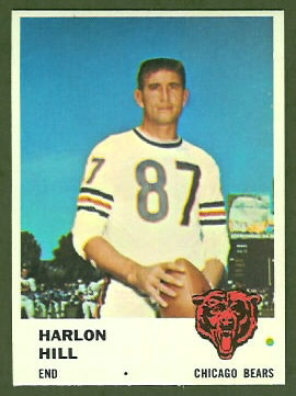Harlon Hill 1961 Fleer football card