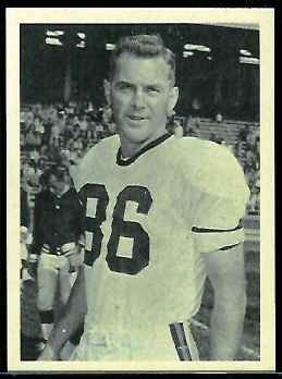 Jimmy Orr 1961 Fleer Wallet Pictures football card