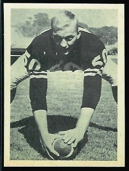 Jim Otto 1961 Fleer Wallet Pictures football card