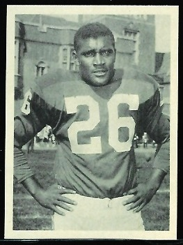 Clarence Peaks 1961 Fleer Wallet Pictures football card