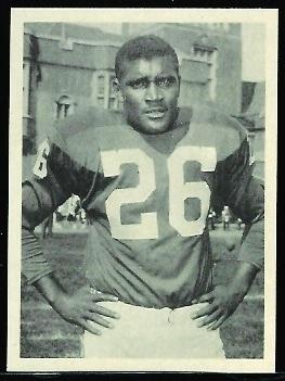 Clarence Peaks 1961 Fleer Wallet Pictures football card