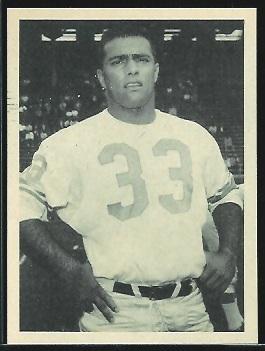 Nick Pietrosante 1961 Fleer Wallet Pictures football card