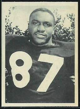 Charlie Powell 1961 Fleer Wallet Pictures football card