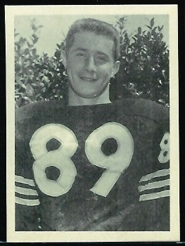 Gene Prebola 1961 Fleer Wallet Pictures football card