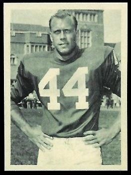Pete Retzlaff 1961 Fleer Wallet Pictures football card