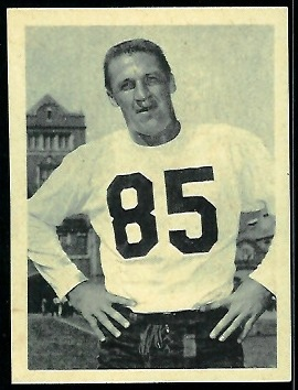Perry Richards 1961 Fleer Wallet Pictures football card