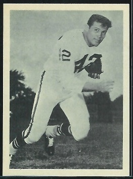 Johnny Robinson 1961 Fleer Wallet Pictures football card