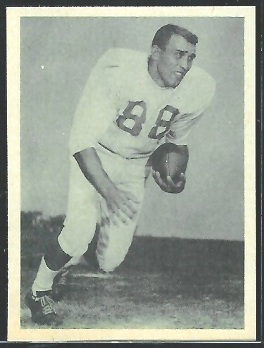 Tom Rychlec 1961 Fleer Wallet Pictures football card