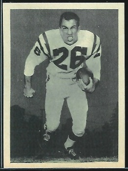 Jim Sears 1961 Fleer Wallet Pictures football card