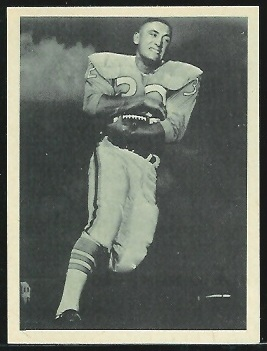 Dave Smith 1961 Fleer Wallet Pictures football card