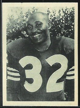 Jim Smith 1961 Fleer Wallet Pictures football card