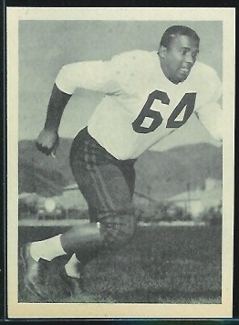 Willie Smith 1961 Fleer Wallet Pictures football card