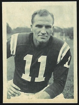 Ed Songin 1961 Fleer Wallet Pictures football card