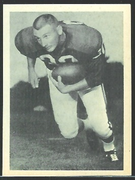 Jack Spikes 1961 Fleer Wallet Pictures football card