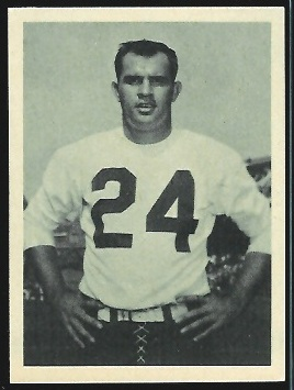 Bill Stacy 1961 Fleer Wallet Pictures football card