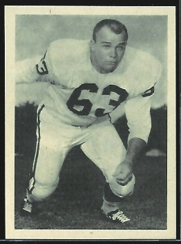 Marvin Terrell 1961 Fleer Wallet Pictures football card