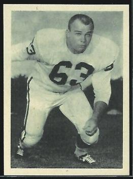 Marvin Terrell 1961 Fleer Wallet Pictures football card