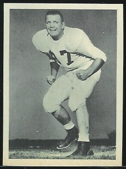Laverne Torczon 1961 Fleer Wallet Pictures football card