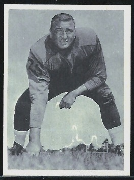 Sid Youngelman 1961 Fleer Wallet Pictures football card