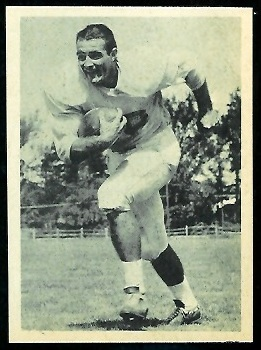 Wray Carlton 1961 Fleer Wallet Pictures football card