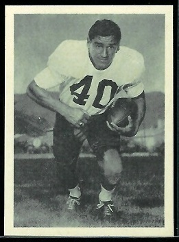 Al Carmichael 1961 Fleer Wallet Pictures football card