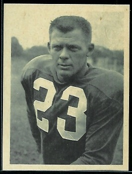 Dick Christy 1961 Fleer Wallet Pictures football card
