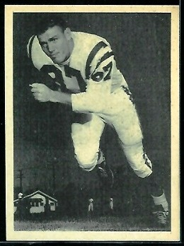 Howard Clark 1961 Fleer Wallet Pictures football card