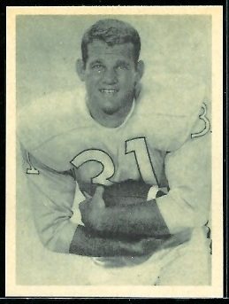 Doug Cline 1961 Fleer Wallet Pictures football card