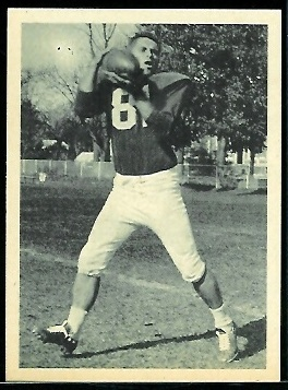 Jim Colclough 1961 Fleer Wallet Pictures football card