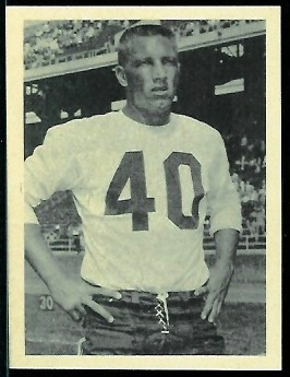 Bobby Joe Conrad 1961 Fleer Wallet Pictures football card