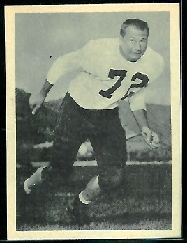 Eldon Danenhauer 1961 Fleer Wallet Pictures football card