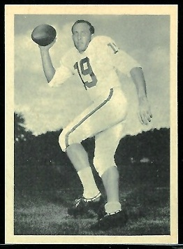 Cotton Davidson 1961 Fleer Wallet Pictures football card