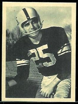 Randy Duncan 1961 Fleer Wallet Pictures football card