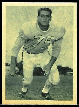 Don Floyd 1961 Fleer Wallet Pictures football card
