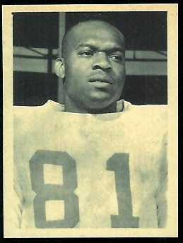 Willmer Fowler 1961 Fleer Wallet Pictures football card